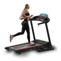 Banda de alergare motorizata Techfit MT150 Treadmill, Cardio, Bluetooth, Gym Equipment, Fitness, Sports, Sash, Running Belt, Hs Sports