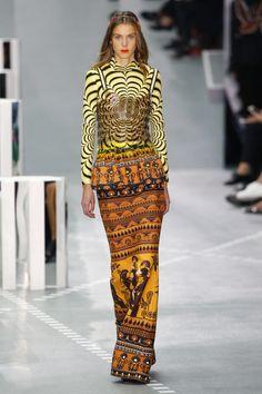 Mary Katrantzou   Ready-to-Wear Spring 2017   Look 31 Hi Fashion, Couture Fashion, African Fashion, Runway Fashion, Womens Fashion, Fashion Design, London Fashion, Fashion Brands, Mary Katrantzou