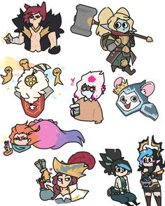 Lol, Poppy League, Leona League Of Legends, Riot Games, Overwatch, Bowser, Poppies, Have Fun, Kawaii