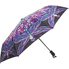 Tiffany Stained Glass Dragonfly Umbrella, add some glamour to your rainy day gear!