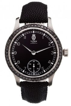 York | Fort de Lippe Royal Black Caviar | Weissgold Classic