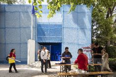 BLUE: Architecture of UN Peacekeeping Missions: Inside the Netherlands' Pavilion at the 2016 Venice Biennale