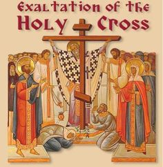 Image result for icon exaltation of the holy cross
