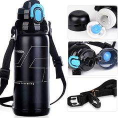 800 ml Stainless Steel insulated Thermos mug/sports Thermal vaccum water bottle