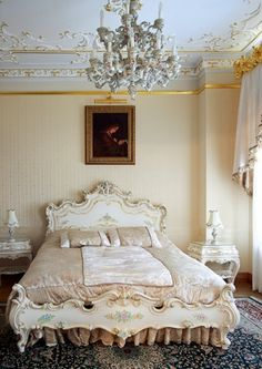 Bedroom Glamorous Rococo Decorating for Your Home