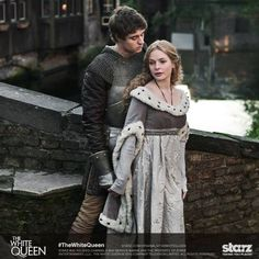 When King Edward IV falls in love with commoner Elizabeth Woodville, drama ensues.  #TheWhiteQueen