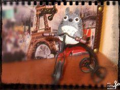 Broche de fieltro de Totoro