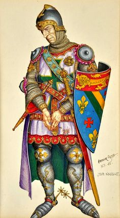 THE LAND OF NOD: What If Arthur Szyk Illustrated a RPG?