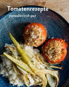 Tomaten. Rezepte rund um den Paradiesapfel Marley Spoon, Ethnic Recipes, Fresh, Round Round, Food Food