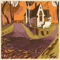 Matthew Cruickhank. #house #fall #autumn