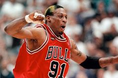 """Well know or heard about Rodman's dramtic flare...let's set it aside, Rodman could rebound like nobody else!...34 rebounds game against the Pacers in 1992, he averaged 18.7 boards a game. (Keep in mind Rodman is 6'6""""....6""""7"""") That year Rodman got 1530 rebounds, the only player to do so after the NBA/ABA merger (previously, the last player to do it had been... Artis Gilmore)....."""