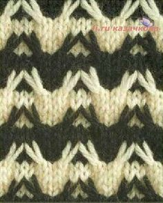DIY & crafts projects, contents and more - Post Elena Prekrasna 633318766335554846 P 5 Diy Crafts, Diy Crafts Knitting, Knitting For Kids, Easy Knitting, Double Knitting, Knitting Stitches, Two Color Knitting Patterns, Knitting Designs, Stitch Patterns