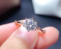 Moissanite   Etsy Diamond Cluster Ring, Diamond Bands, Diamond Wedding Bands, Blue Moonstone, Moonstone Ring, Moissanite Diamonds, Moissanite Rings, White Gold Rings, Silver Rings