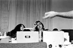 John & Yoko photo by Linda McCartney