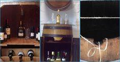 Claves para transformar un barril en un fantástico mueble bar