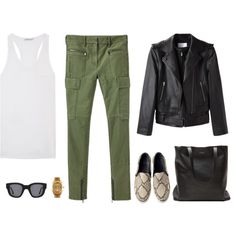 A fashion look from July 2013 featuring T By Alexander Wang tops, Alexander Wang jackets and 3.1 Phillip Lim pants. Browse and shop related looks.