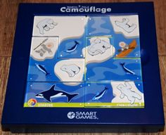 """""""Kamuflaż"""" to właściwie nie gra, a układanka logiczna. Nie każdy je lubi, ale dla miłośników takich gier to prawdziwa gratka. W mojej kolekcji jedna z najstarszych z serii Smart Games (mam ją ok 7-8 lat), ale też chyba najbardziej lubiana. Starannie wykonana, łatwa do zabrania w podróż, zajmuje tyle miejsca, co książka. Zapakowana w plastikowe, rozsuwane pudełko, w środku mieszczą…"""