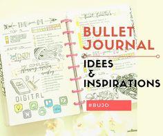 Idées et inspirations Bullet Journal Bullet Journal Font, Bullet Journal Hacks, My Journal, Bullet Journals, Journal Ideas, Daily Journal, Bujo, Organization Bullet Journal, Planner Organization