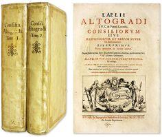 Consiliorum Sive Responsorum, Et Rerum Super Iis Iudicatarum.. | Lelio Altogradi