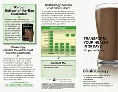 Everything you need to know about the healthiest meal of the day: Shakeology! Best meal replacement shake out there...perfect for weight loss.