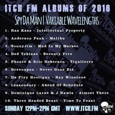 The ITCH FM Albums of 2016 | Variable Wavelengths  @Spy_da_Man | Sunday 12pm-2pm  Full Top 100 is here: http:// http://ift.tt/2h2fXFJ  #spydaman #thevariablewavelengthshow  #hiphopworld #hiphopdj  #hiphopstyle #hiphoplives #hiphopnews #hiphoplife #hiphopculture #hiphopaddict  #hiphopweekly #hiphopbeat #hiphopvinyl #hiphoplove #hiphopsoul #hiphopislife #hiphopheads #hiphopclassic #hiphopjunkie #hiphopart #hiphopmusic #hiphophead #hiphopartists