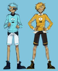 cipher twins! they exist! and it is me and my twin! i'm bill!