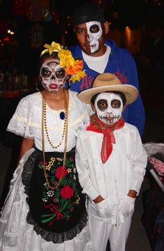 Family faces - 2014 Day of the Dead | Flickr - Photo Sharing!