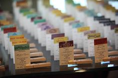 Fast Pass Seating Cards by KellieCecilia on Etsy seriously where is my husband! These are awesome!