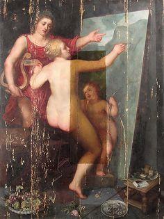 Обнаружена «забытая» картина Отто ван Веена, учителя Рубенса http://rupo.ru/m/5381/ #питерпаульрубенс #оттованвеен #реставрация