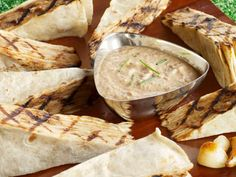 Get Garlic-Onion Tortilla Cake Recipe from Food Network