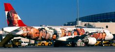 Austrian Airlines - From abstract art to portraits of famous people