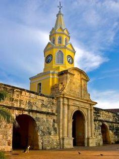 Torre del Reloj de Cartagena (Colombia)