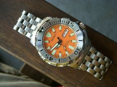 Where Are The Monsters? Post Your Pics! - Page 47 Seiko Marinemaster, Seiko Monster, Seiko Diver, Seiko Watches, F21, Omega Watch, Monsters, Clock, Awesome