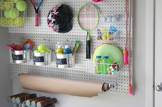 Garage pegboard outdoor toy storage wall the creativity exchange tape ideas ways to organize with . pegboard ideas for garage