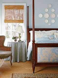 Perfectly Aged Color Scheme  Country French Blue + Antique Whites