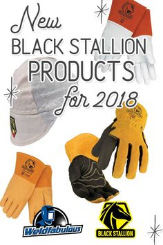 Treat yourself to Black Stallion's new 2018 product line-up including the AH1630-GS Welding Cap, the GT7520-BT TIG Gloves, and plenty of cut-resistant welding and work gloves for your every need.