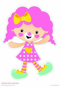 Carnival Themes, Circus Theme, Party Themes, Circus Crafts, Clown Party, Princess Party Favors, Le Clown, Felt Patterns, Vintage Circus