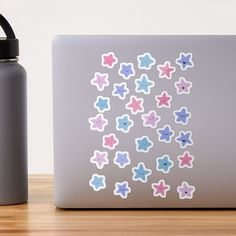 """Pastel Kawaii stars sticker set"" Sticker by kate1602 