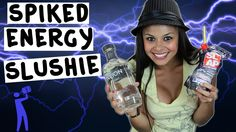 How to make Spiked Energy Drink Slushies - Tipsy Bartender