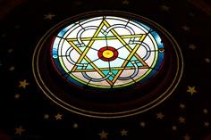 Skylight, Eldridge St. Synagogue, NYC.