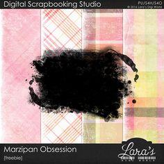 Lara´s Digi World - Digital Scrapbooking Designs: Marzipan Obsession Freebie