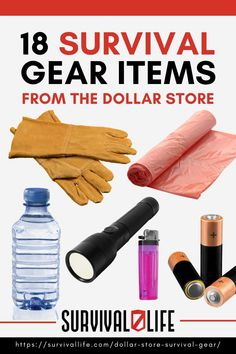 These are the survival tools and equipment that you can pick up on your next visit to your local dollar store. #survivalkit #dollarstore #survivalitems #survivaltool #survivaltips #survival #preparedness #survivallife Survival Items, Survival Supplies, Survival Life, Survival Tools, First Aid Supplies, Trash Bag, Tools And Equipment, Dollar Stores, Bin Bag