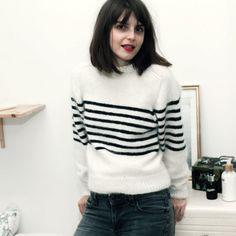 Parisienne kit de tricot pull / knitting kit sweater
