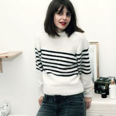 Parisienne kit de tricot pull / knitting kit sweater