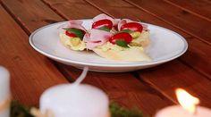 bramborová pomazánka na chlebíčky Panna Cotta, Ethnic Recipes, Food, Dulce De Leche, Essen, Meals, Yemek, Eten