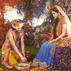 Radha Krishna Holi, Radha Krishna Love Quotes, Cute Krishna, Lord Krishna Images, Radha Krishna Pictures, Krishna Photos, Krishna Art, Radhe Krishna, Krishna Painting