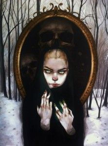 Queen - Leilani Bustamante #art #surrealism #painting