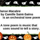 """This PowerPoint show is great to go with your recording of Camille Saint-Saens' """"Danse Macabre"""".  It gives a little bit of background information o..."""