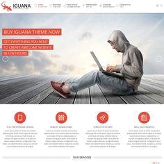 Iguana Responsive MultiPurpose WordPress Theme | WordPress Theme Download