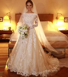 Different Styles Of Wedding Dresses. There are several designs of bridal gown, practically as many styles of wedding dresses as there are shapes of women. Wedding Dress Sleeves, Long Sleeve Wedding, Modest Wedding Dresses, Bridal Dresses, Wedding Gowns, Lace Weddings, Dress Lace, Bridesmaid Dresses, Perfect Wedding Dress